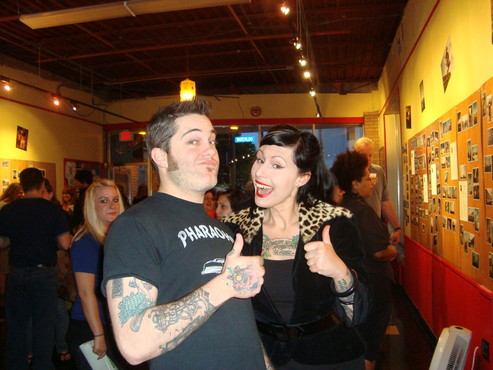 """""""This Is Cleveland"""" art show at Low Life Gallery, June 12 2009"""